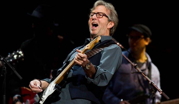 Eric Clapton conmemora sus 70 años con la proyección de un concierto en cines