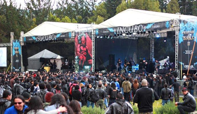 Escenarios del Festival del Diablo 2015
