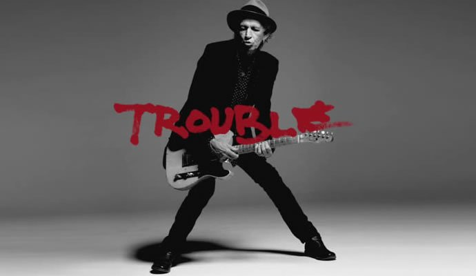"""Keith Richards presenta su nueva canción """"Trouble"""""""