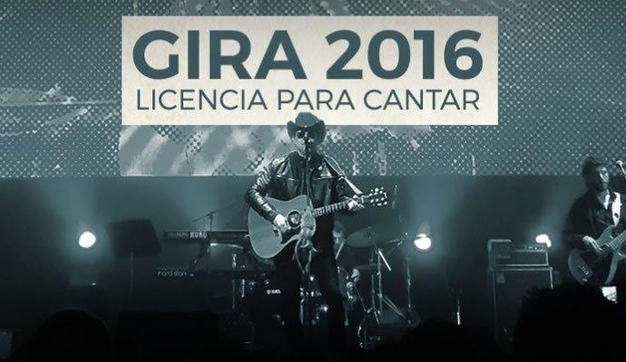 """Andres Calamaro estará en Colombia con su gira """"Licencia para Cantar"""""""