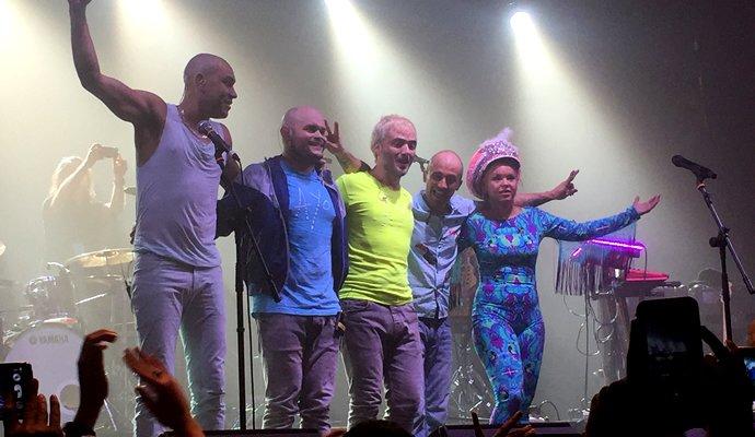 Bomba Estéreo presento su nuevo disco en Barcelona