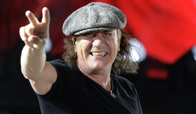 Brian Johnson, ex-vocalista de AC/DC