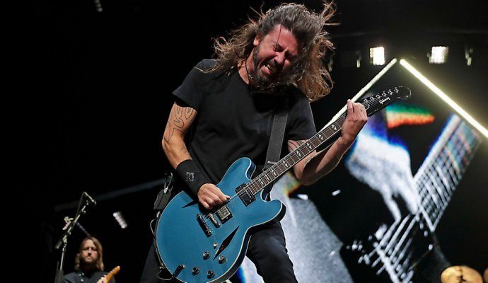 Foo Fighters regresa a Colombia - Dave Grohl. vocalista de la banda.
