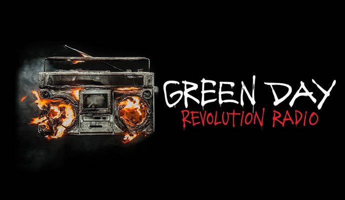 "Green Day presenta su décimo segundo disco ""Revolution Radio"""
