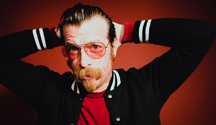 Jesse Hughes guitarrista y vocalista de Eagles of Death Metal