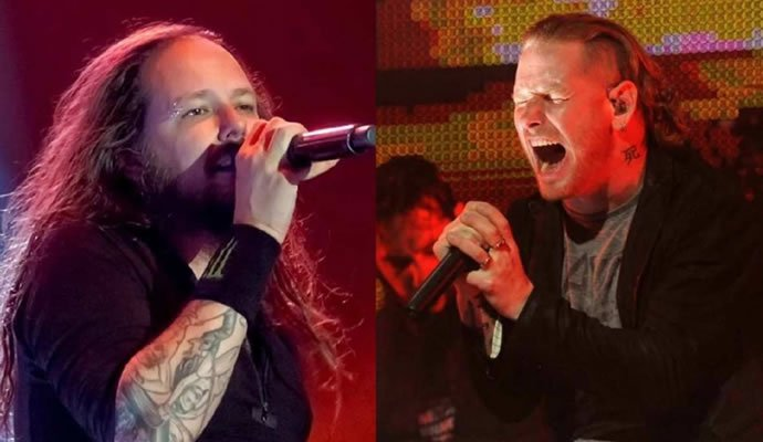"Corey Taylor colabora con Korn en la canción ""A Different World"""