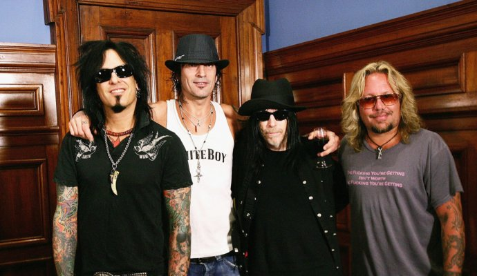 Mötley Crüe presenta el soundtrack de su película The Dirt