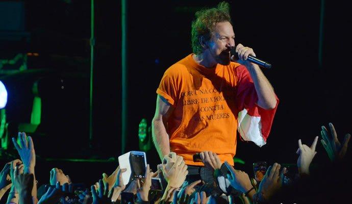 Pearl Jam en Bogota. Foto: Felipe Rocha