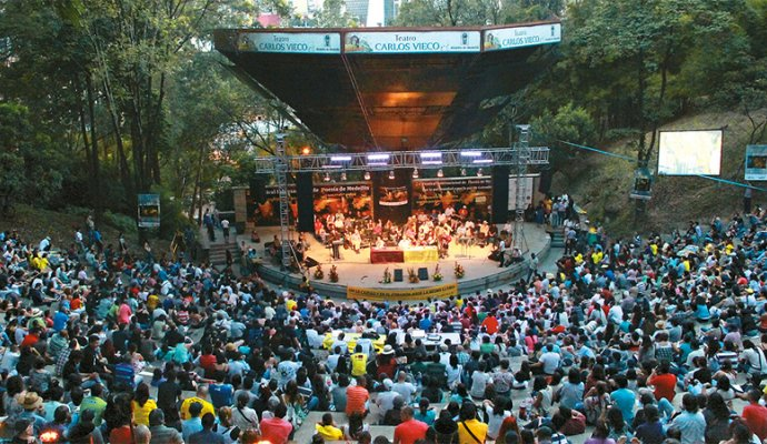 Teatro al Aire Libre Carlos Vieco: Foto: Semana.com