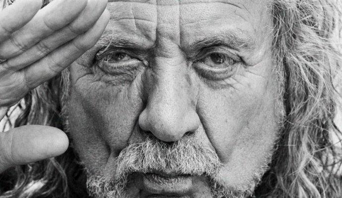 Robert Plant, la voz inigualable de Led Zeppelin