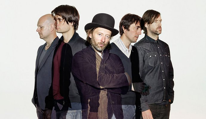 Radiohead estará por primera vez en Colombia