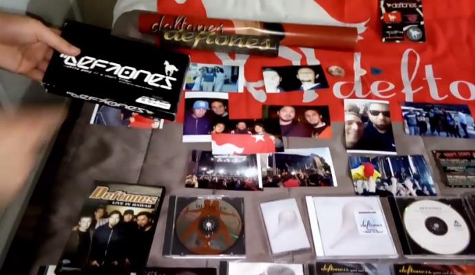 Colección del ganador de la guitarra conmemorativa Deftones en Colombia