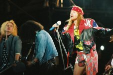 Guns N' Roses durante el Use Your Illusion Tour