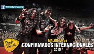 Malón, invitado internacional a Rock al Parque 2015