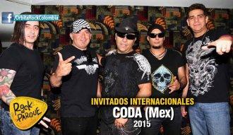 La agrupación mexicana Coda se presentará en Rock al Parque 2015