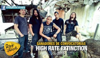 High Rate Extinction se presentará en Rock al Parque 2015