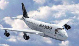 Este será el Boeing 747-400 que usará Iron Maiden para su gira mundial 2016