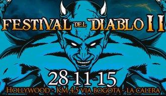 Festival del Diablo 2015 a las afueras de Bogotá
