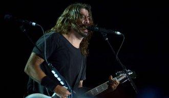 Dave Grohl en el concierto de Foo Fighters en Bogotá (Foto: Felipe Rocha)