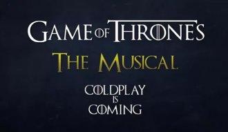 Las letras y la musicalización estuvieron a cargo de Coldplay