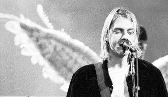 Kurt Cobain, vocalista y líder de Nirvana