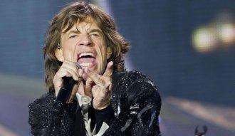 Mick Jagger vocalista de The Rolling Stones