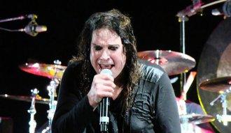 Ozzy Osbourne en su concierto en Bogotá