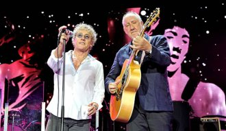 Roger Daltrey y Pete Townshend de The Who