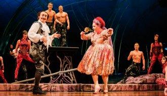 Amaluna del Cirque Du Soleil está en Bogota. Ph. David Martin