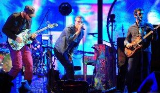Fotografía concierto de Coldplay en Argentina