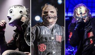 Así ha evolucionado la máscara de Corey Taylor de Slipknot