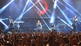Lleno total en el concierto de Epica en el Teatro Royal Center