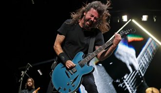 Foo Fighters regresa a Colombia - Dave Grohl. vocalista de la banda.