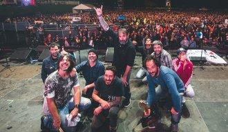 La Vela Puerca en el escenario de Rock al Parque 2019 Ph. Mathew Valvuena