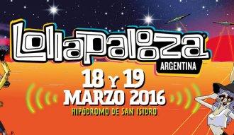 Lollapalooza Argentina se realizará el 18 y 19 de marzo