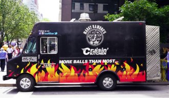 Cruisin Kitchen, restaurante sobre ruedas de Marky Ramone