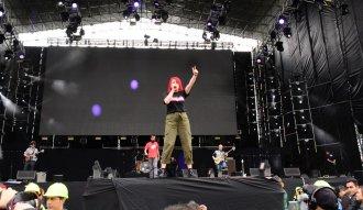 Odio a Botero en su show de Rock al Parque 2019