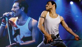 Rami Malek en su interpretación de Bohemian Rhapsody