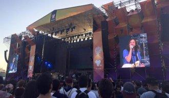 Tame Impala en el VTR Stage de Lollapalooza Chile 2016