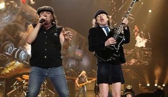 AC/DC en concierto en 2010