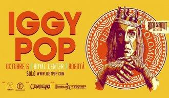 Iggy Pop estará por primera vez en Bogotá