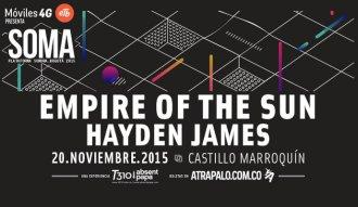 Afiche de SOMA 2015