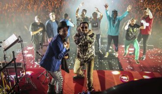 Los Auténticos Decadentes tocaron 42 canciones con el Foro Sol totalmente lleno