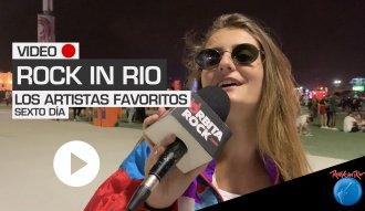 Los asistentes nos cuentan acerca de sus artistas favoritos en Rock in Rio 2019