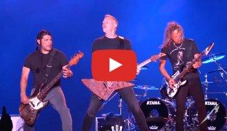 Metallica en vivo en el ACL Music Fest 2018