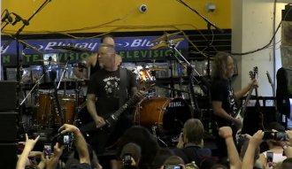 Metallica en el Record Store Day 2016