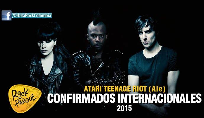 Atari Teenage Riot, invitado internacional a Rock al Parque 2015