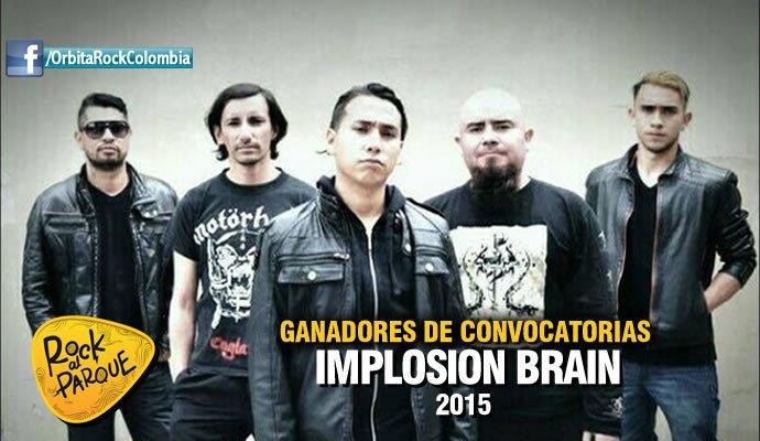 Implosion Brain se presentará en Rock al Parque 2015
