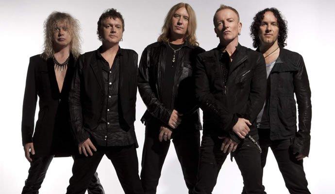 Def Leppard banda de hard rock británica