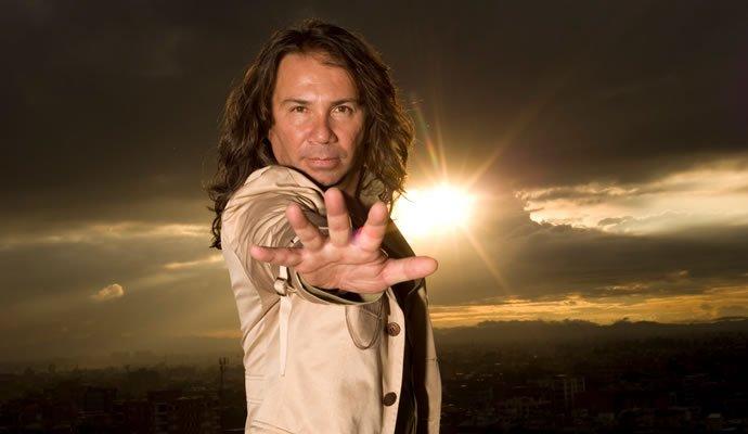 Elkin Ramirez vocalista de Kraken
